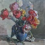 """Christine's Tulips- 20""""  x 16"""""""