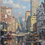 """Reflections, NYC - 36"""" x 48"""""""