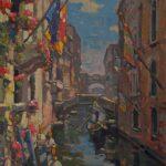 "Colors of Venice  - 24""  x 18"""