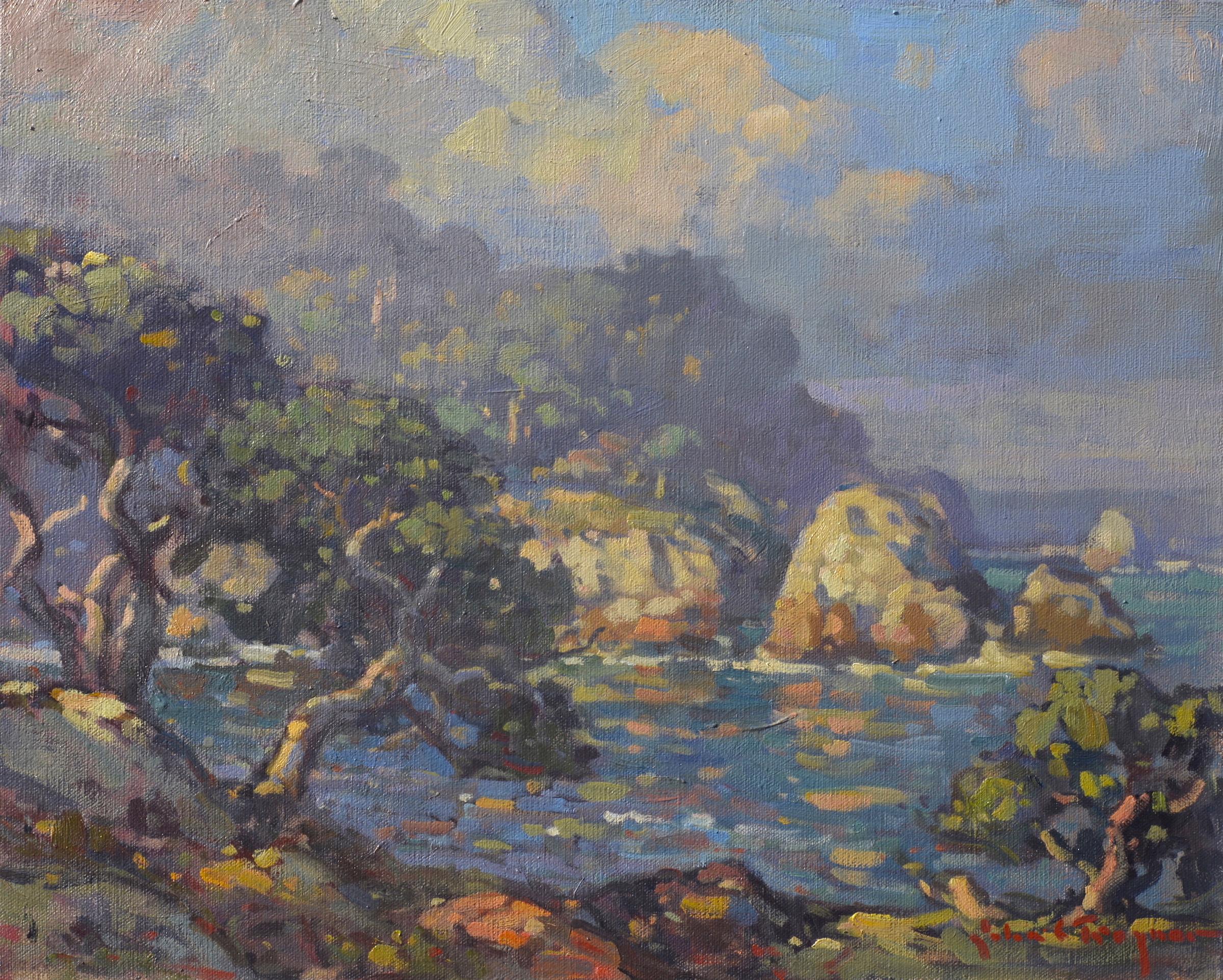 Landscape john c traynor for Blue fish cove