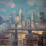 """After Hours (NYC) - 30""""  x 40"""""""