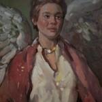 "Guardian Angel - 18""  x 24"""